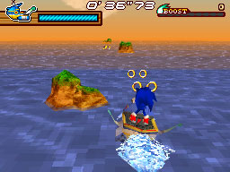 Sonic Rush Adventure Flash